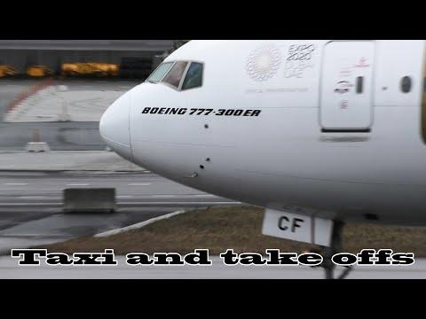 [4K] Plane spotting - Stockholm Arlanda Airport ESSA/ARN