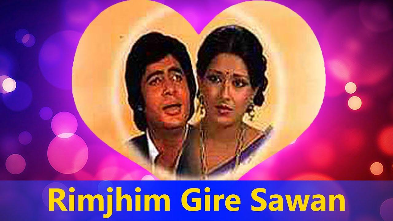 rimjhim gire sawan kishore kumar hit song manzil valentines day song youtube