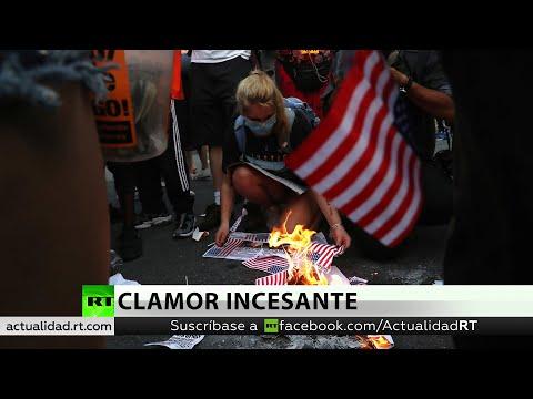 RT en Español: Trump acusa a los manifestantes de Black Lives Matter de intentar destruir EE.UU.