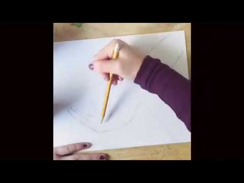 How To Draw Two Hands Making A Heart Youtube