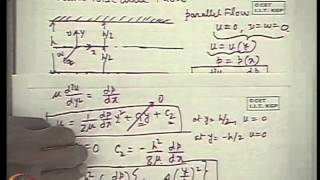 Mod-31 Lec-31 Incompressible Viscous Flows Part III