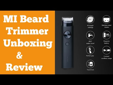 Mi Beard Trimmer Unboxing & Hands-On Review