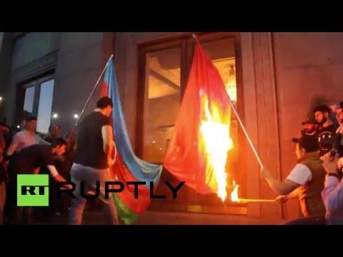 Шествие в память жертв геноцида армян в Османской империи прошло в Ереване