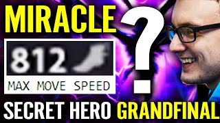 WTF 812 MS!!? MIRACLE SECRET HERO - Quick Practise For Dota Pit 2020 Grand Finals