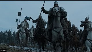 Game Of Thrones - S06E09 Knights of the Vale arrive! thumbnail