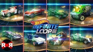 Hot Wheels Infinite Loop - UNLOCKED 8 TIERS 2 CARS - iOS / Android Gameplay