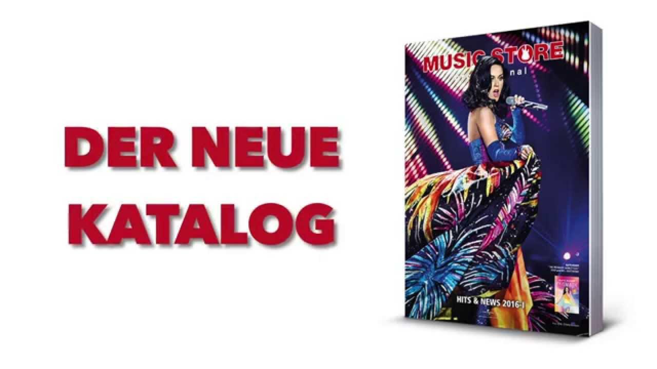 01e1a3da0a143e Der neue MUSIC STORE Katalog 2016-I ist da !!! - YouTube