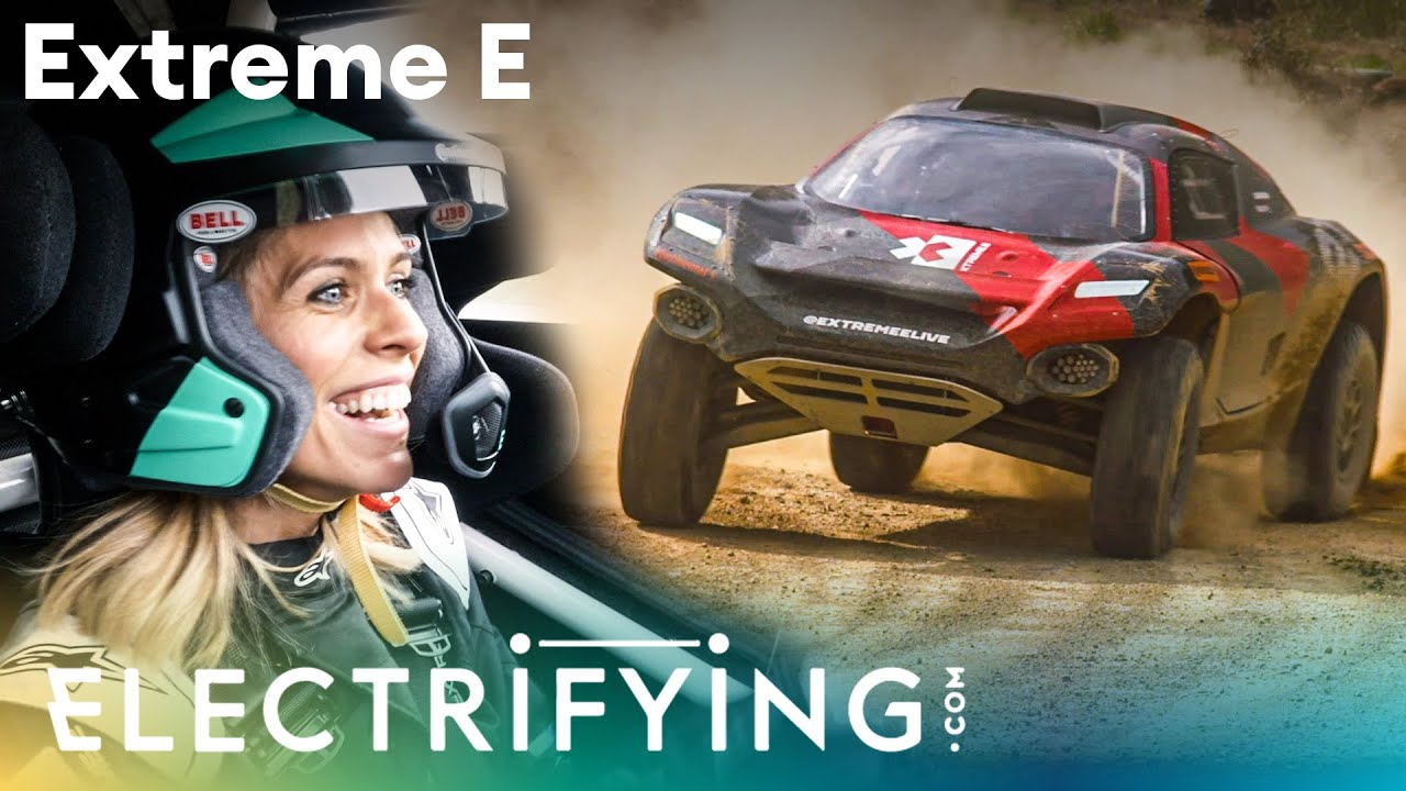 Extreme E electric SUV driven PLUS what is Extreme E? Nicki Shields / Electrifying