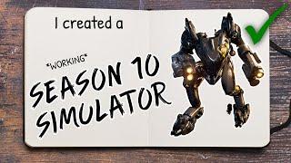 """I created a """"Season 10 Simulator"""" in Fortnite *Working*"""
