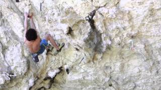 BD Athlete Adam Ondra Onsights Il Domani (9a)