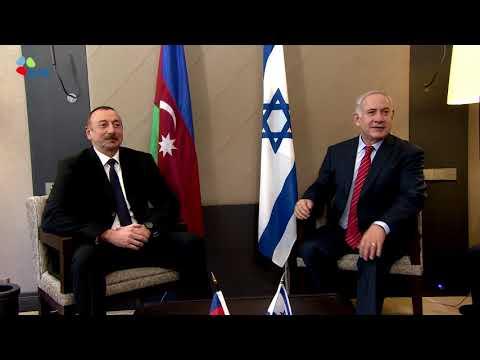 PM Benjamin Netanyahu Meets President of Azerbaijan Ilham Aliyev