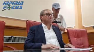Avellino - Conferenza Stampa Preziosi -  I Punti programmatici proposti al sindaco Ciampi