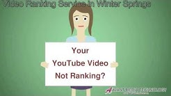 YouTube Video Ranking Service in Winter Springs FL (407) 848-1001