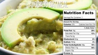 Avocado Oatmeal Recipe | Healthy | Weight Loss