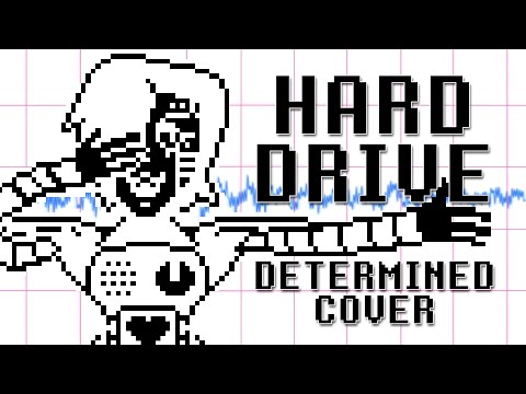 """HARD DRIVE"" Determined Cover by Shadrow 