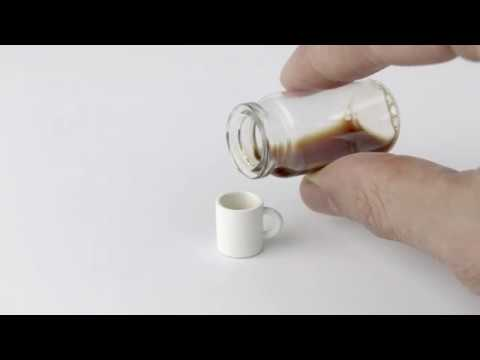 World's smallest cup of coffee