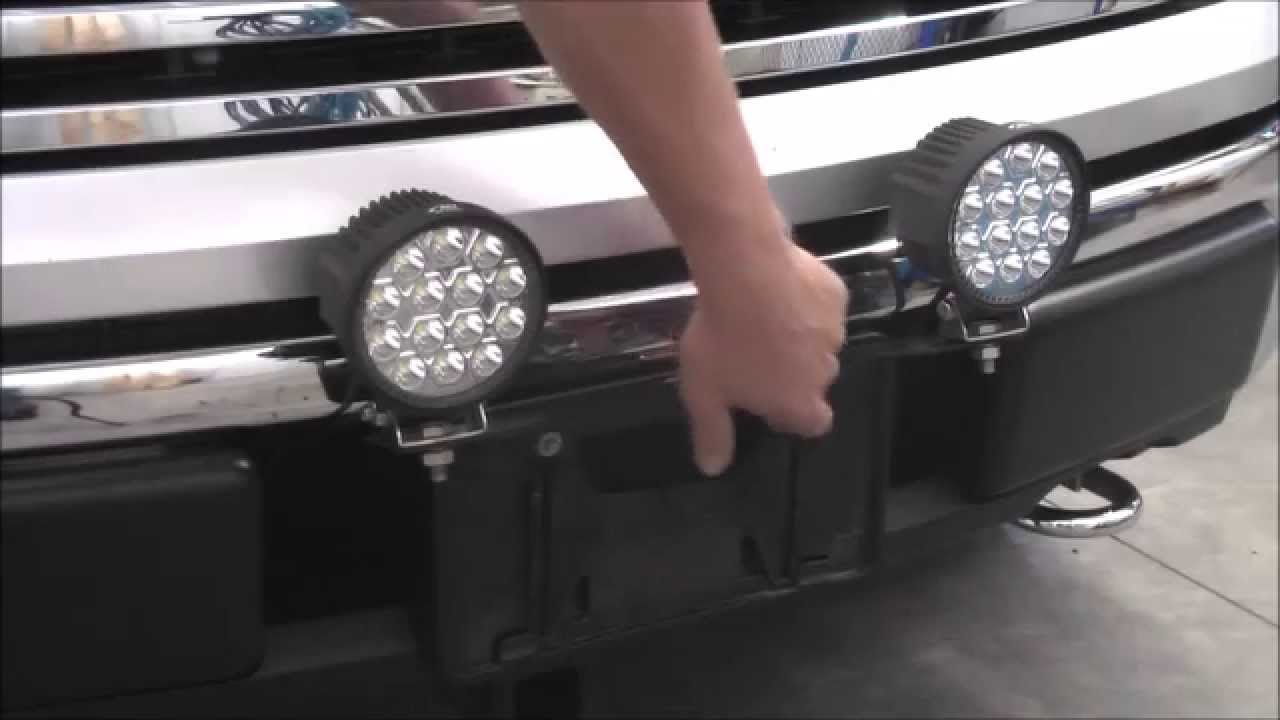 Access License Plate Mount - YouTube