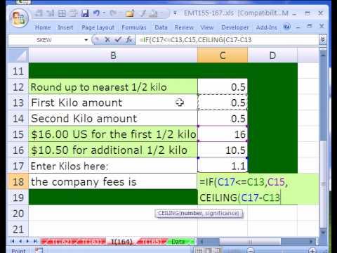 Excel Magic Trick # 164: CEILING Function In Price Formula