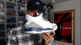 nike air jordan 3 og 88 true blue 2016 first thoughts