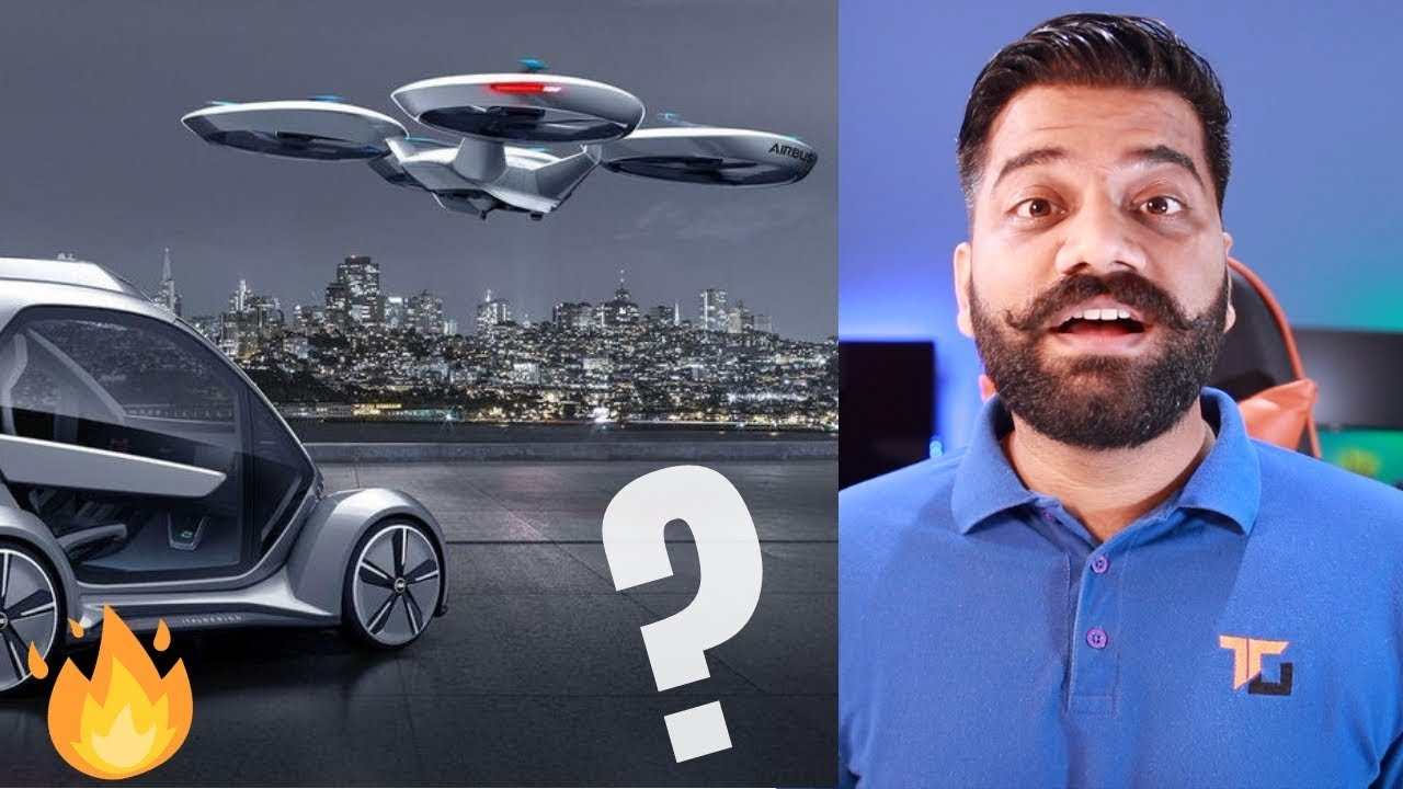 Flying Taxis? Passenger Drones? Flying Cars? Tech Explained...