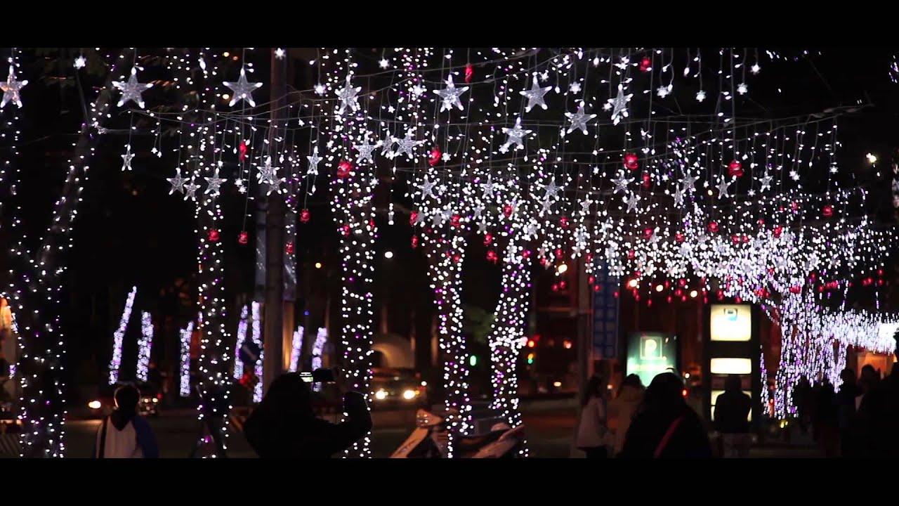 新北市板橋車站聖誕燈會隨錄 - YouTube