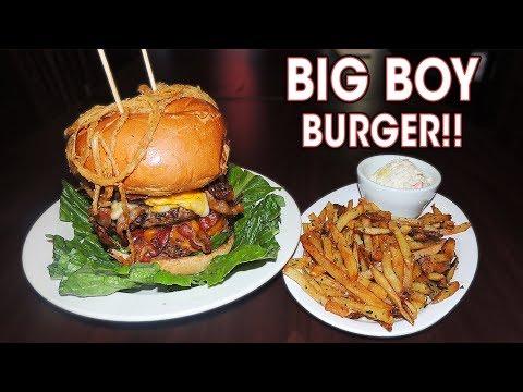 BIG BOY BURGER CHALLENGE NEAR CHICAGO!!