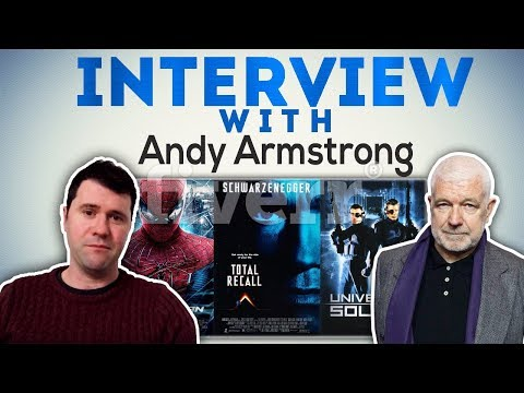 Interview with Stargate - stunt co-ordinator and performer Andy Armstrong