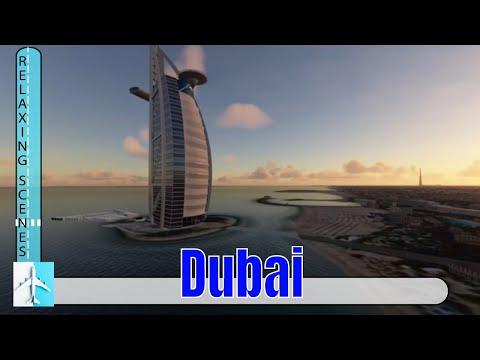 Flight Simulator 2020 Flies Dubai and the Burj Khalifa in the Icon A5
