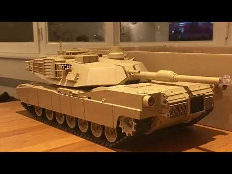 Building of the 1/16 RC M1A2 Abrams Tamiya 56041 - part 1