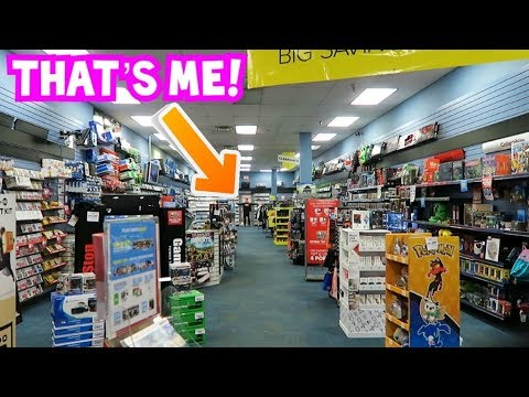 The BIGGEST GameStop in the WORLD! - YouTube
