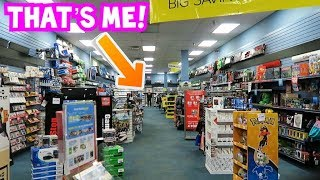 The Biggest Gamestop In The World!