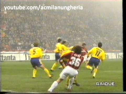 Serie A 1997/1998 | AC Milan vs Bologna 0-0 | 1997.12.21 ...