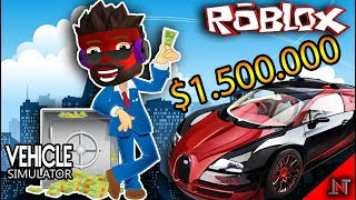 ROBLOX Indonesia #32 Vehicle Simulator | BUY THE WORLD's FASTEST car 😱😱😱😱