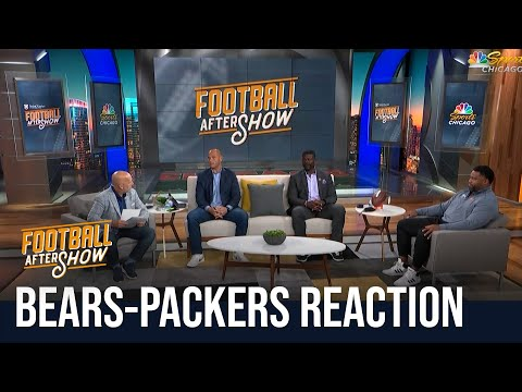 Bears lose to Packers, instant reaction | Football Aftershow | NBC Sports Chicago