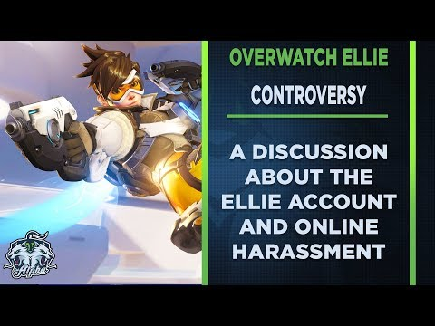 I think it's time we talk about The Overwatch Ellie Controversy thumbnail