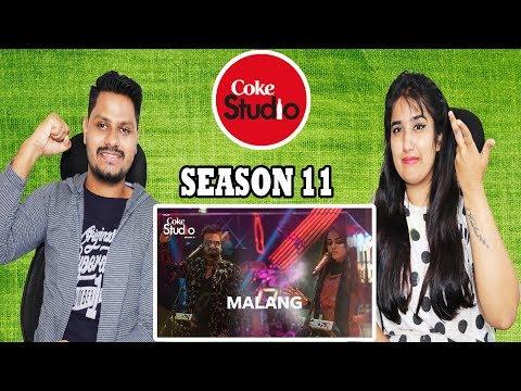 Indian Reaction On Malang, Sahir Ali Bagga and Aima Baig, Coke Studio Season 11, Episode 5