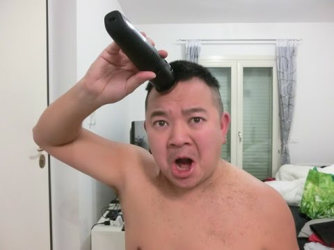 Come tagliarsi i capelli da soli uomo forbici