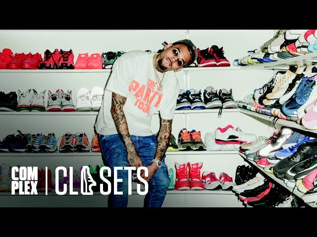 Chris Brown Gives Tour Of His Incredible Sneaker Closet