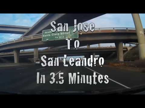 San Jose To San Leandro In 3.5 Minutes