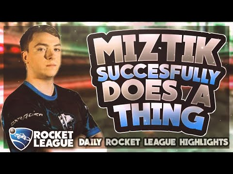 OMG Rocket League Moments: miztik successfully does a thing thumbnail
