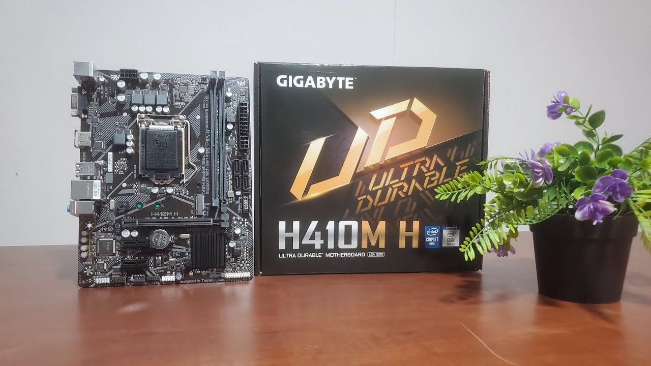 Gigabyte H410M H 10th Generation Intel LGA 1200 [Unboxing] - YouTube