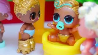 ЛОЛ Новая серия | Куклы Лол шпионы в детском саду
