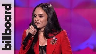 Kehlani Accepts Rule Breaker Award At Billboard 39 S Women In Music 2017