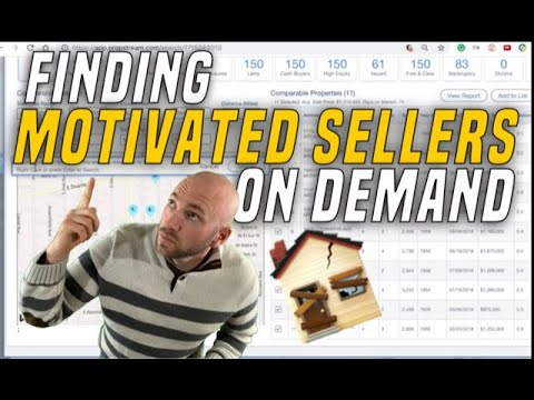 How To Find Motivated House Sellers | Wholesale Real Estate