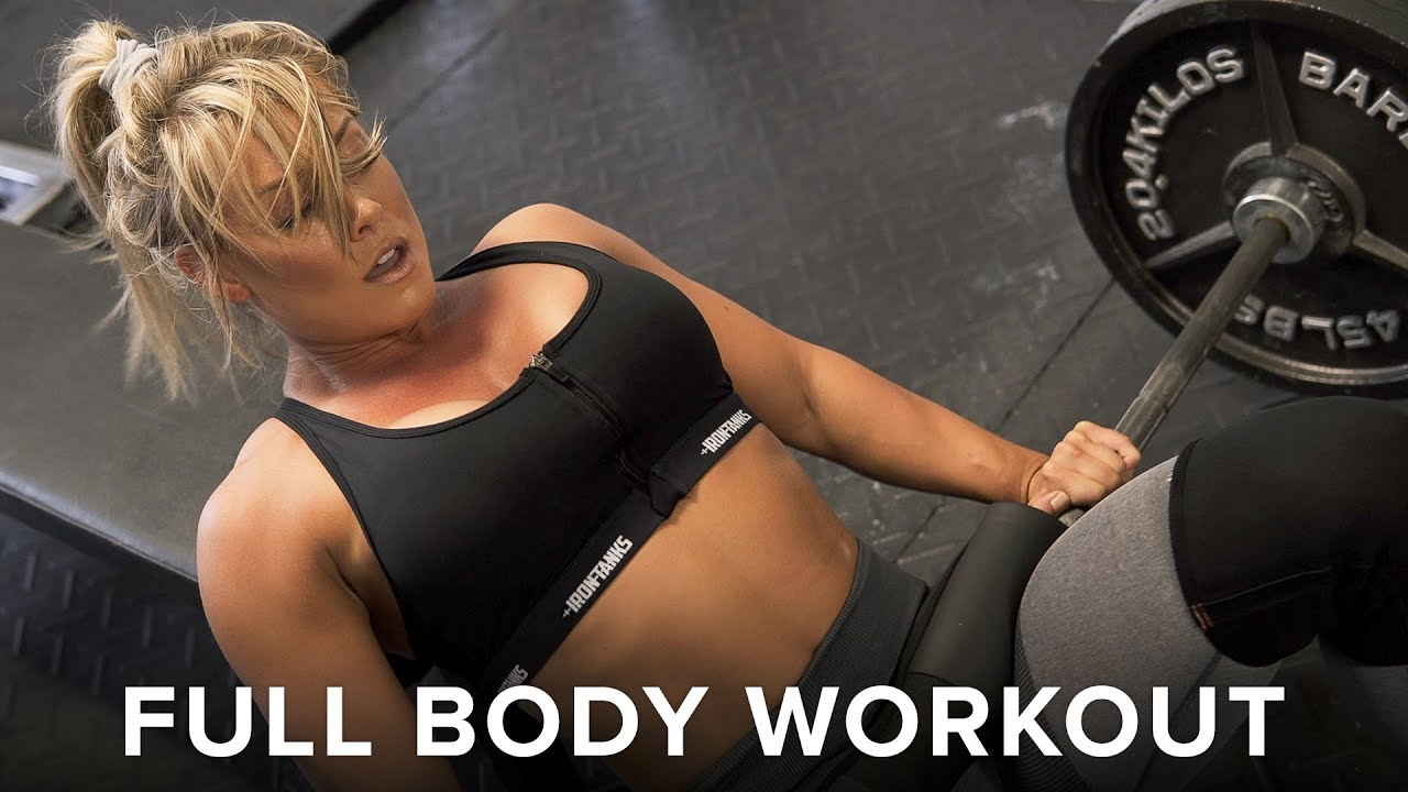 My Favorite Home Gym Full Body Workout - Feat APD. Holly Baxter