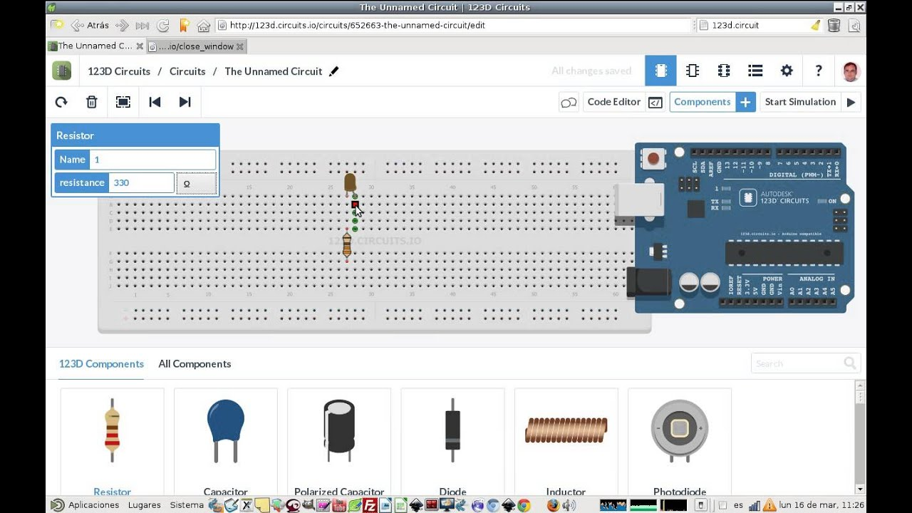 Simulador de arduino crea y prueba tus montajes sin coste for Simulador cocinas online gratis