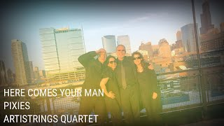 Here Comes Your Man - Pixies - Artistrings Chicago Wedding Contemporary String Quartet
