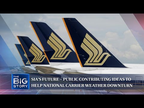 SIA's future – public contributing ideas to help national carrier weather downturn | THE BIG STORY