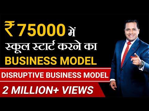 Start Your School In 75000 | Disruptive Business Model | Dr Vivek Bindra