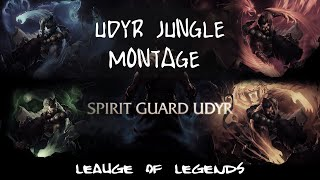 League of Legends (#1) - Udyr Jungle (Spirit Guard Udyr) - Gameplay-Montage (Deutsch)